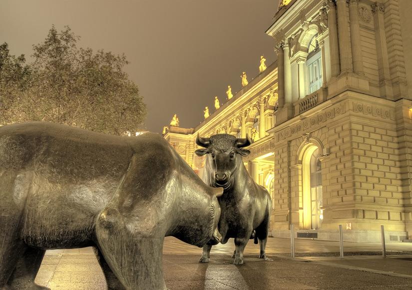 Auf große und kleine Tiere trifft man in der Finanzwelt überall. Foto: © Circumnavigation - Fotolia