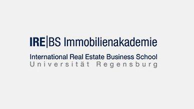 Schriftzug irebs Immobilienakademie Universität Regensburg