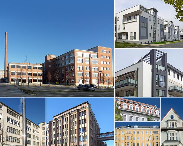 Berlin, Kornwestheim, Kassel, Mönchengladbach und viele andere – die Vielfalt unserer Objekt-Standorte minimiert das Risiko bei unerwarteten Marktentwicklungen.