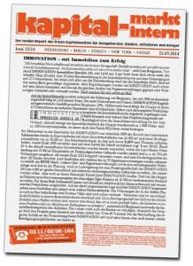 IMMOVATON AG: KMI, Kapitalanlagen und Immobilien