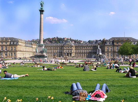 Stuttgart gehört zu den Top 10 Deutschlands