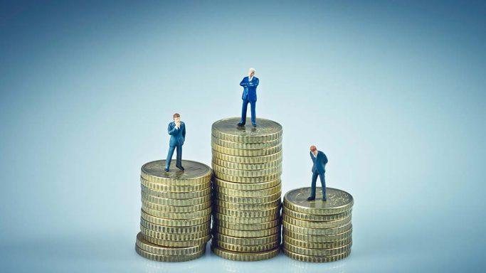 Einkommenspyramide
