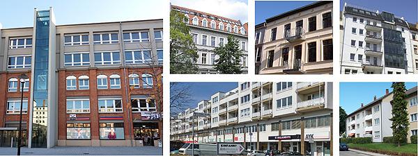 Wohnimmobilien, kleine Auswahl