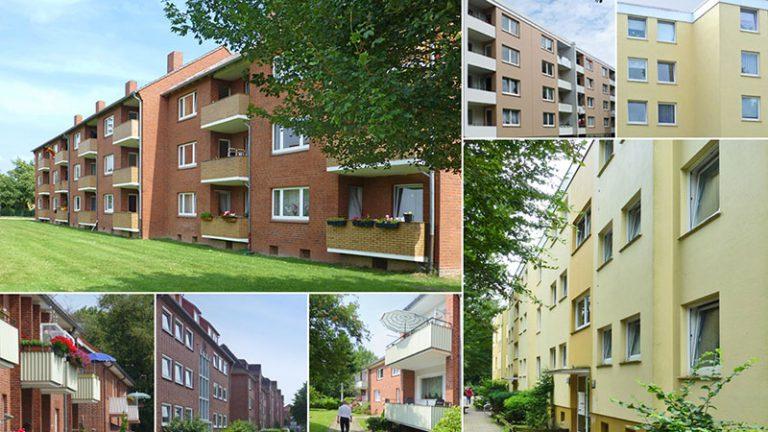 Portfolio Hohe Geest - Bestandsimmobilien in Delmenhorst und Cuxhaven