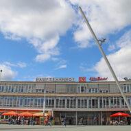 Himmelsstürmer am Kasseler Kulturbahnhof