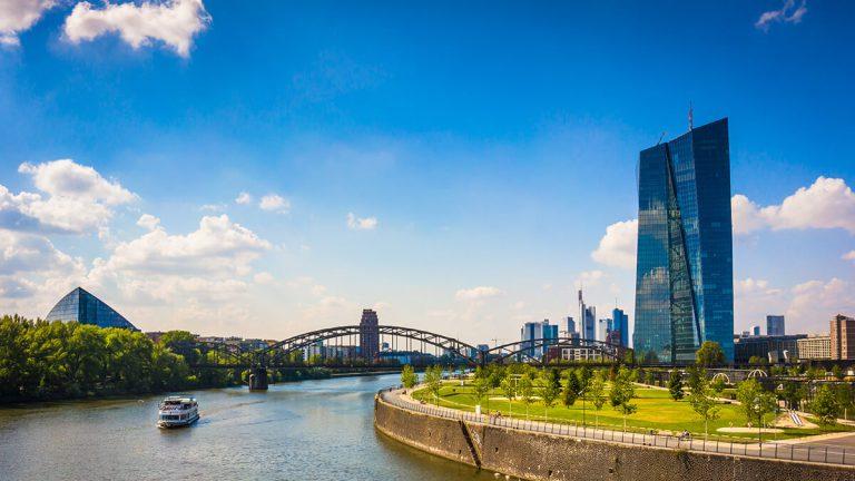 Europäische Zentralbank mit Sitz in Frankfurt am Main