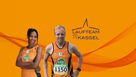 Melat Kejeta und Jens Nerkamp, Laufteam Kassel