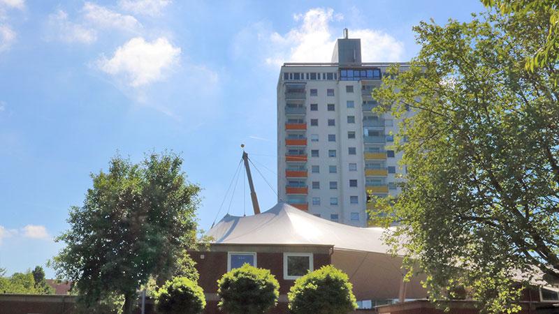 Wohnportfolio Seeviertel, Salzgitter, Hochhaus am Riesentrapp