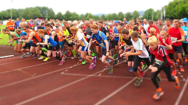 Nordhessencup - Läufer am Start