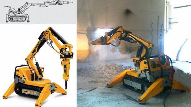 Abriss-Roboter