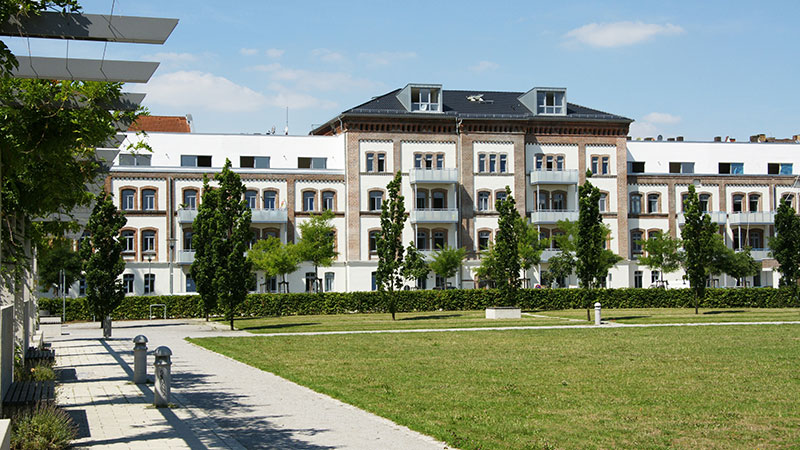 Wohngebäude Beckett Flügel, Kassel