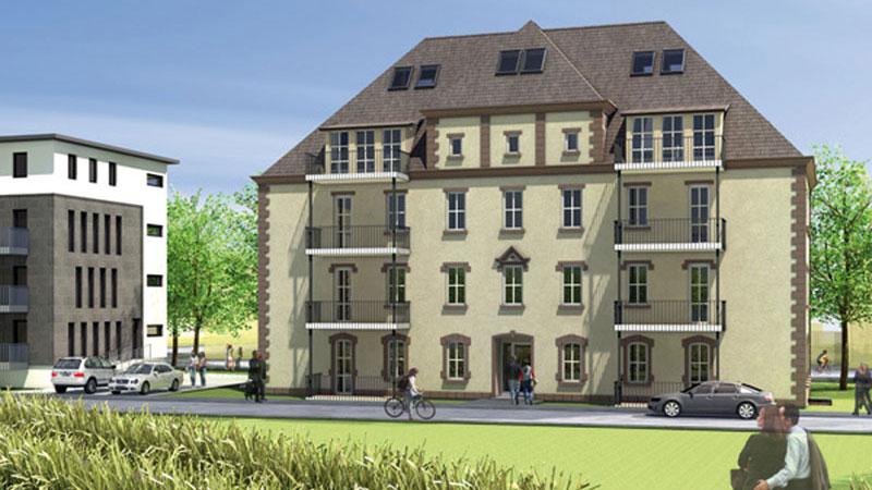Wohnhaus Koenig Jerome, Kassel, Entwurf für den Umbau eines Denkmalgebäudes