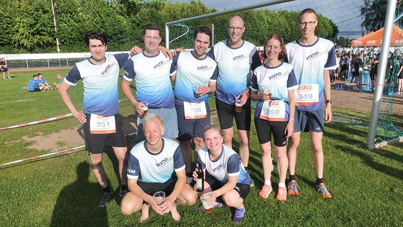 """DAK Firmenlauf Nordhessen 2016 Laufteam """"immo runners"""" (Archivbild)"""