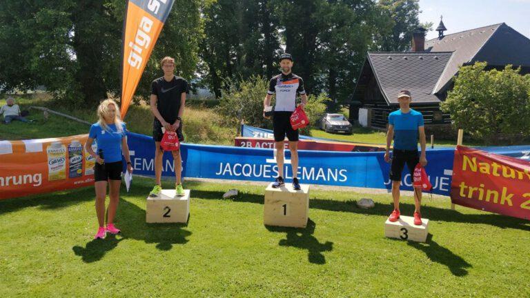 Nils Bergmann: Zweiter Platz Kraiger Berglauf