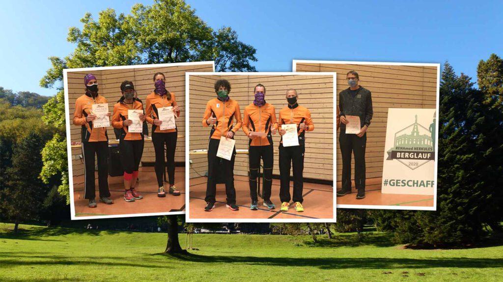 Laufteam: Erfolge bei den Hessischen Berglaufmeisterschaftenen