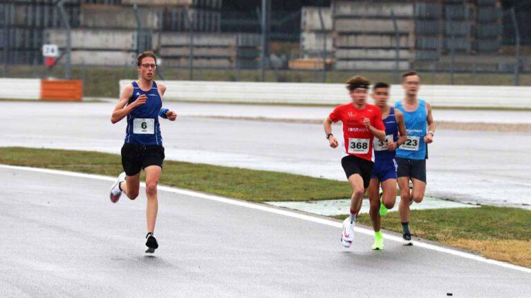 Nils Bergmann beim Hockenheimring-Lauf
