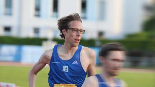Nils Bergmann beim Sportfest in Mainz