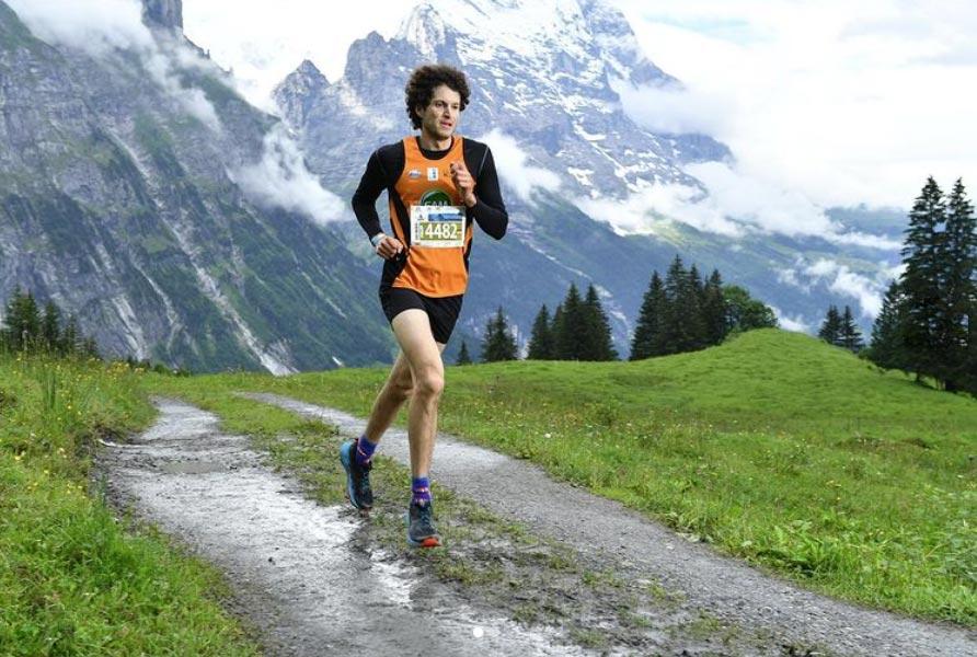 Philipp Stuckhardt beim Eiger Ultra Trail