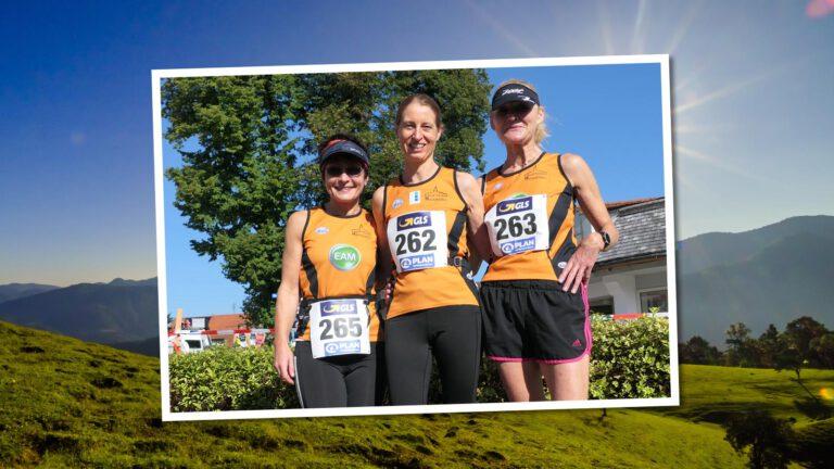 v.l.n.r.: Grazyna Ewa Szczeblewski, Sabine Bergmann und Ursula Henning (alle Laufteam Kassel)